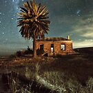 Eudunda ruin at Night by pablosvista2