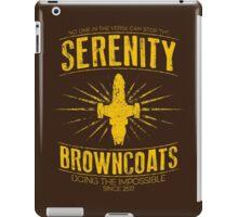 Serenity Browncoats iPad Case/Skin