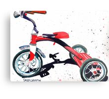 Radio Flyer Tricycle Metal Print