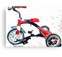 Radio Flyer Tricycle Canvas Print