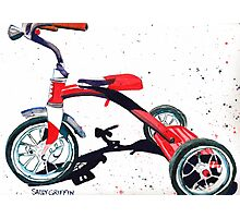 Radio Flyer Tricycle Photographic Print