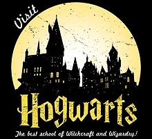 Visit Hogwarts by CXPStees