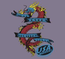 usa warriors dragon by rogers bros T-Shirt