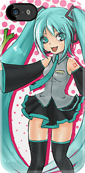 Vocaloid - Hatsune Miku by StudioMarimo