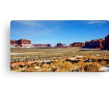 Once Upon a Time in Utah Canvas Print