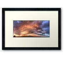 ©HCS Red October I Framed Print