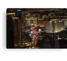 Cityscape Las Vegas, Nevada Canvas Print