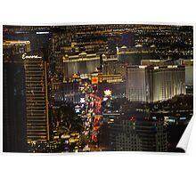 Cityscape Las Vegas, Nevada Poster