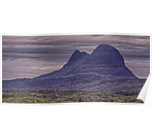 Suilven Panorama Poster