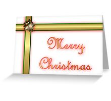 Merry Christmas holiday card Greeting Card