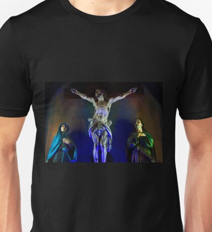 Jesus On The Cross - Azogues Unisex T-Shirt