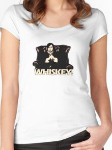 Snuff Box - Whiskey! Women's Fitted Scoop T-Shirt