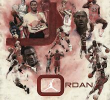 Rare Air-Michael Jordan by visionstretcher