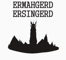 ERMAHGERD ERSINGERD by ahahanna