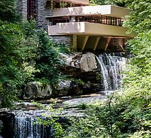 Falling Water, Kaufman House, Frank Lloyd Wright by MuethBooth