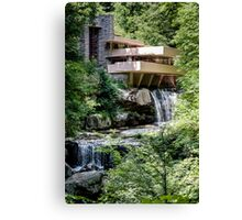 Falling Water, Kaufman House, Frank Lloyd Wright Canvas Print