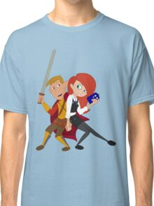 Kim & Ron Cosplay Amy & Rory Classic T-Shirt