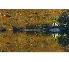 Rydal Water .. Russet Reflections Photographic Print