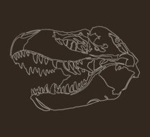A Single Line T-Rex by joshmirm