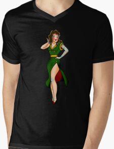 Ai Mens V-Neck T-Shirt