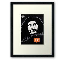 One love One like Framed Print