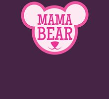 MAMA Bear in teddy bear shape Womens Fitted T-Shirt