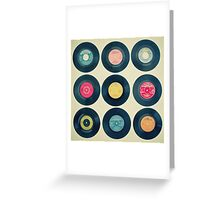 Vinyl Collection Greeting Card