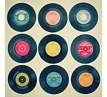 Vinyl Collection Photographic Print