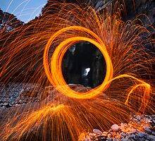 Ring of Fire at Remarkable Cave. by philTas