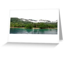 Christmas Bay shoreline Greeting Card
