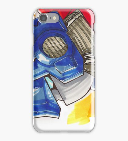 Optimus Prime Horizontal iPhone Case/Skin