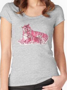 Tiger Family Women's Fitted Scoop T-Shirt