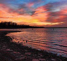 An Evening On The Rocks by Carolyn  Fletcher