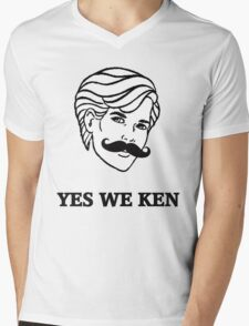 Yes We Ken Mens V-Neck T-Shirt