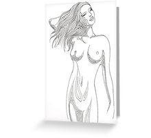 Nude 3 Greeting Card
