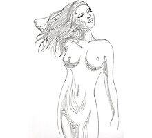 Nude 3 Photographic Print