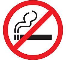NO SMOKE Photographic Print