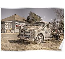 Tucumcari Tow Truck Poster