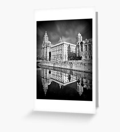 The Liver Building Greeting Card