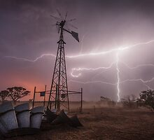 The Crucifix - Great Victoria Desert, WA by Liam Byrne
