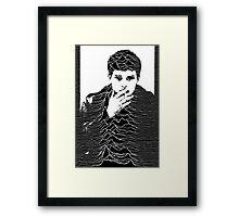 Ian Curtis Framed Print