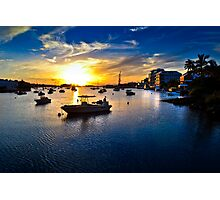 Harbour light.. Photographic Print