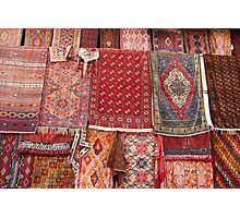 Turkish rugs Photographic Print