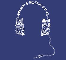 Headphones Collage T-Shirt