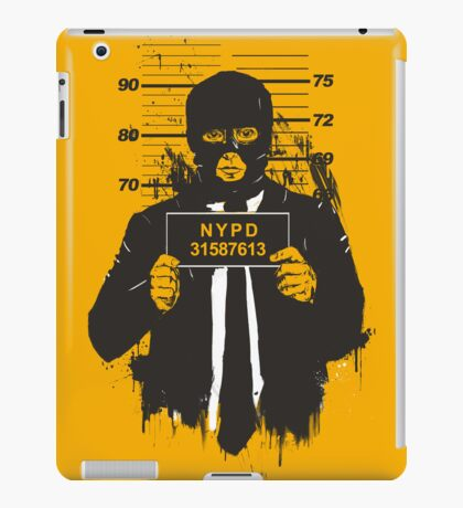 mugshot iPad Case/Skin