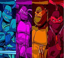 Teenage Mutant Ninja Turtles by KrisArt