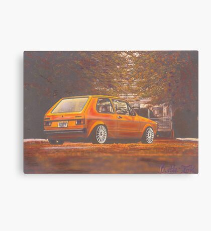 Russet Canvas Print