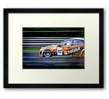 Motorsport superstars Framed Print