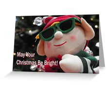 Elf Card Greeting Card