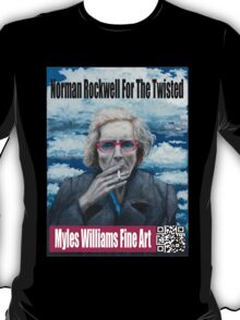 Myles Williams Fine Art - Red Spectacles T-Shirt